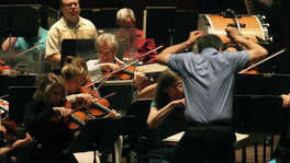 The San Antonio Symphony rehearses at The Tobin Center for the Performing Arts. A reader says residents must step up to support the financially ailing symphony.