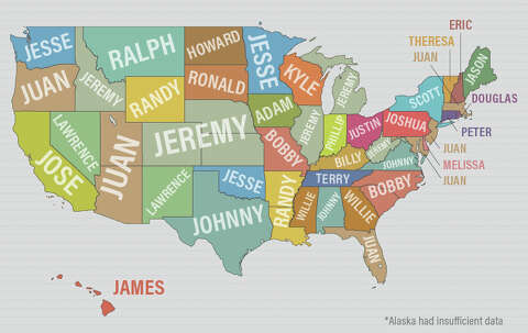 These are the most common first names of criminals - SFGate