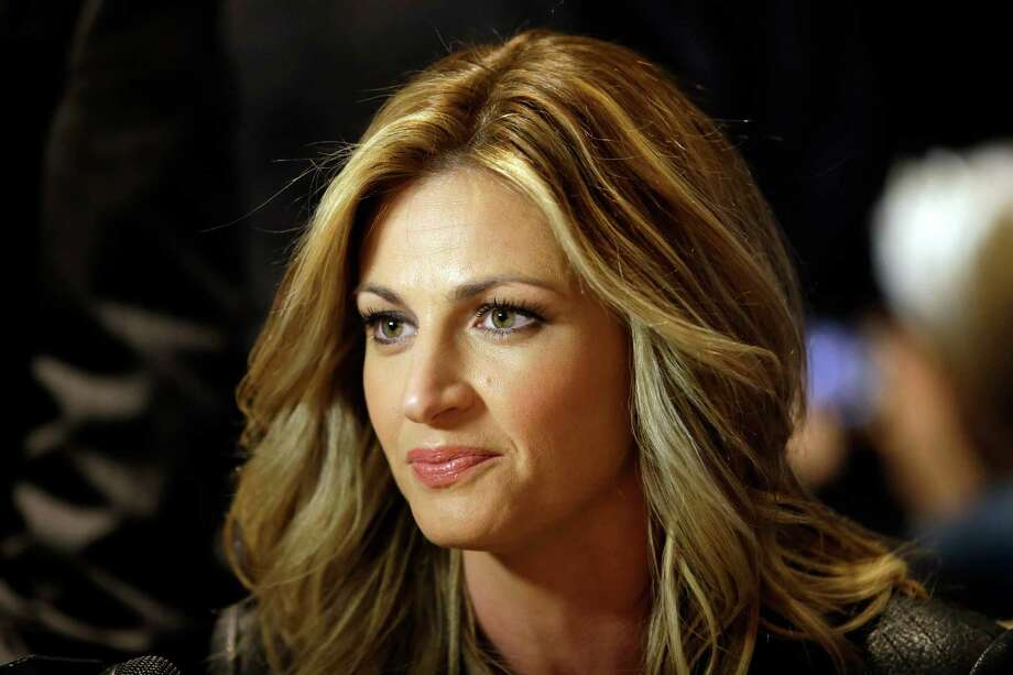 FILE - In this Jan. 28, 2014, file photo, sportscaster Erin Andrews speaks during an interview at the NFL Super Bowl XLVIII media center in New York. An attorney for Andrews told a jury Tuesday, Feb. 23,2016, that she felt horror, shame and humiliation when she discovered that someone had secretly filmed her nude and posted the video on the Internet.  (AP Photo/Matt Slocum, File) ORG XMIT: NY170 Photo: Matt Slocum / AP