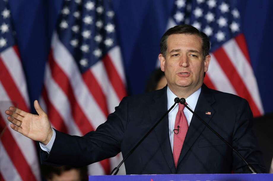 INDIANAPOLIS, IN - MAY 03:  Republican presidential candidate, Sen. Ted Cruz (R-TX) speaks during an election night watch party at the Crowne Plaza Downtown Union Station on May 3, 2016 in Indianapolis, Indiana. Cruz lost the Indiana primary to Republican rival Donald Trump. Photo: Joe Raedle, Getty Images / 2016 Getty Images