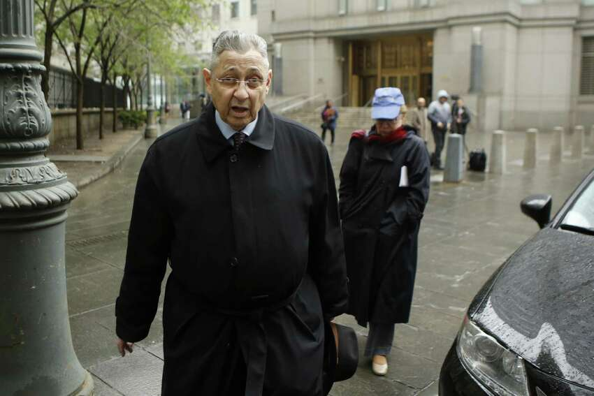 NEW YORK, NY - MAY 03: Former New York Assembly Speaker Sheldon Silver arrives to federal court in Lower Manhattan on May 3, 2016 in New York City. Former New York state assembly speaker Silver will be sentenced to prison for corruption schemes that federal officials said captured $5 million over a span of two decades (Photo by Eduardo Munoz Alvarez/Getty Images) ORG XMIT: 636666131