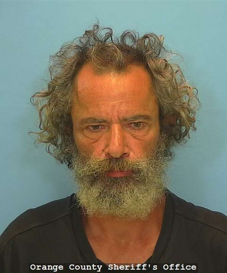 Aaron Kyle Angelo, 51, was arrested Friday on a charge of unauthorized use of a motor vehicle after he was linked by DNA evidence to the stolen truck of his slain stepfather.