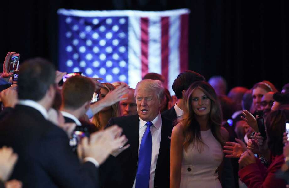 The election of a populist such as GOP presidential candidate Donald Trump would prompt fewer companies to increase their spending in the U.S. and more corporations to scale back their outlays over the next one to three years, according to a survey conducted in January for global management consulting firm A.T. Kearney. Photo: Jewel Samad /AFP /Getty Images / AFP or licensors