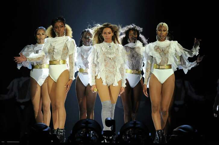 MIAMI, FLORIDA - APRIL 27: Beyonce performs during the Formation World Tour at Marlins Park on Wednesday, April 27, 2016, in Miami, Florida.