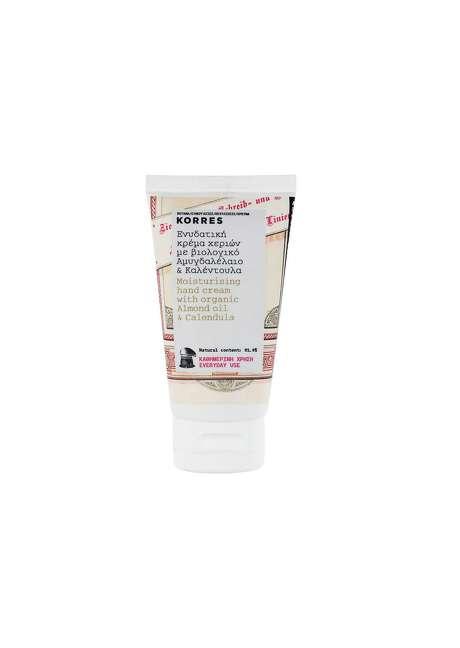 Korres Moisturizing Hand Cream with Almond Oil & Calendula Photo: Courtesy Photo