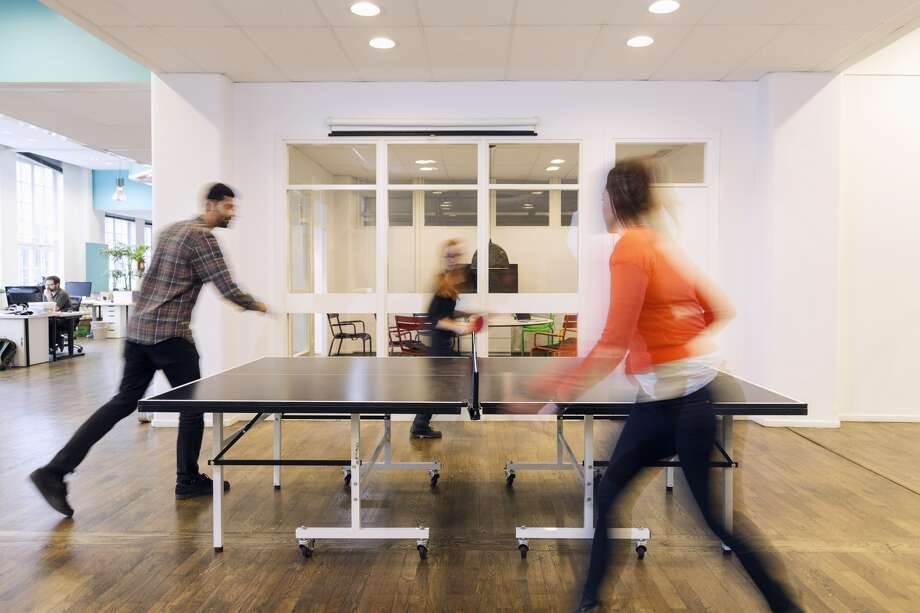 The ping pong index: Some believe sales of ping pong tables are an indicator of the health of the Bay Area tech economy. Photo: Maskot, Getty