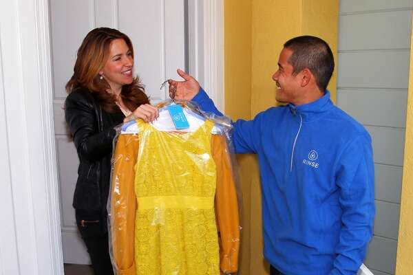 1:30 p.m.: Laundry and dry cleaning  