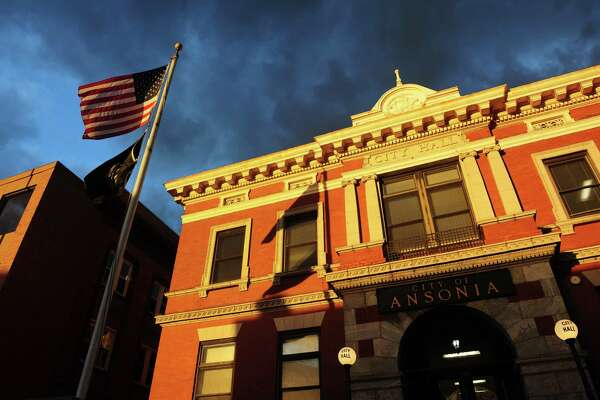 A view of Ansonia City Hall in Ansonia, Conn. on Thursday Apr. 7, 2016.