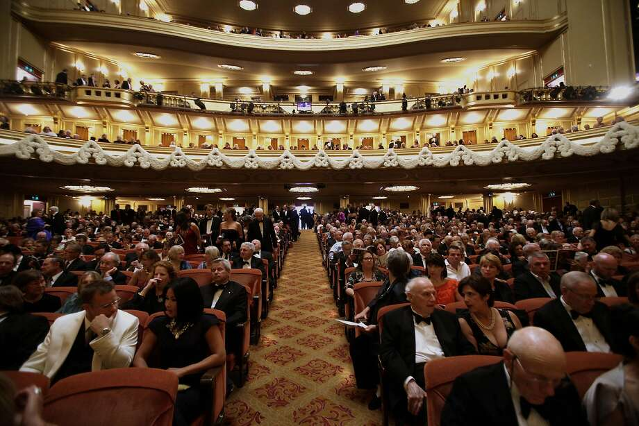 Inside the War Memorial Opera House Photo: David Paul Morris, The Chronicle