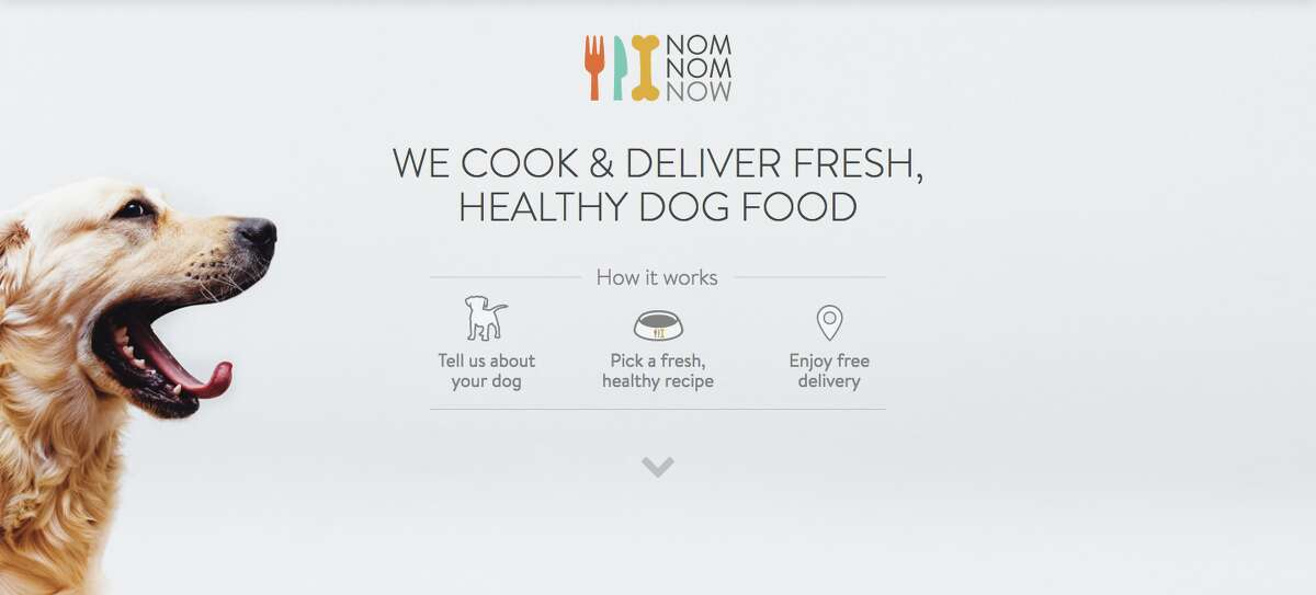 A sample of NomNomNow's homemade dog food, which is delivered straight to customers.