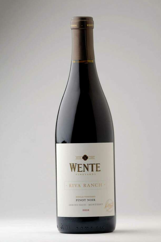 Wente Riva Ranch, Pinot Noir, California 2012, Friday, Jan. 22, 2016, at the Times Union in Colonie, N.Y. (Will Waldron/Times Union) Photo: Will Waldron