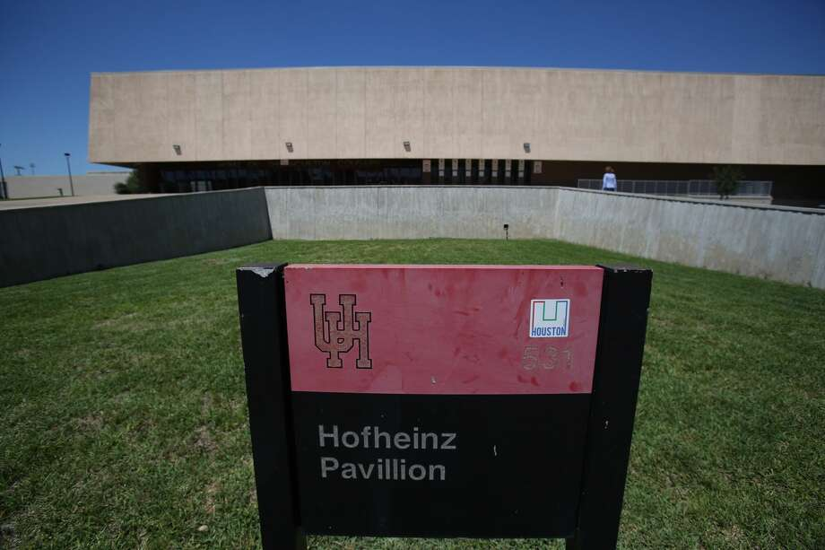 "The family of late county judge Roy Hofheinz filed a petition seeking to require the University of Houston to ""honor its original agreement"" and keep the school's basketball arena named Hofheinz Pavilion. (Steve Gonzales / Houston Chronicle) Photo: Steve Gonzales/Houston Chronicle"