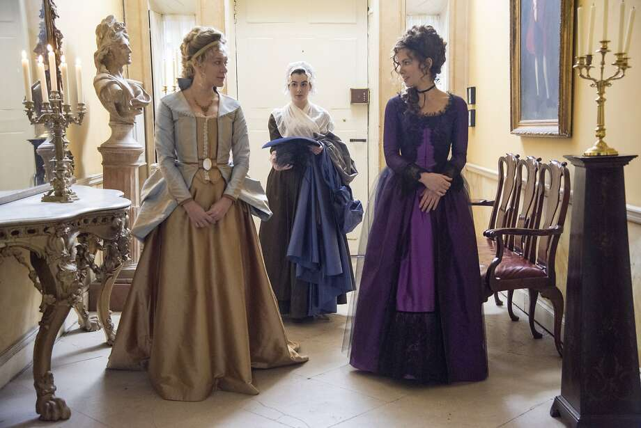 Kate Beckinsale (right) and Chloë Sevigny in Love & Friendship. Photo: Courtesy Of Amazon Studios And Roadside Attractions