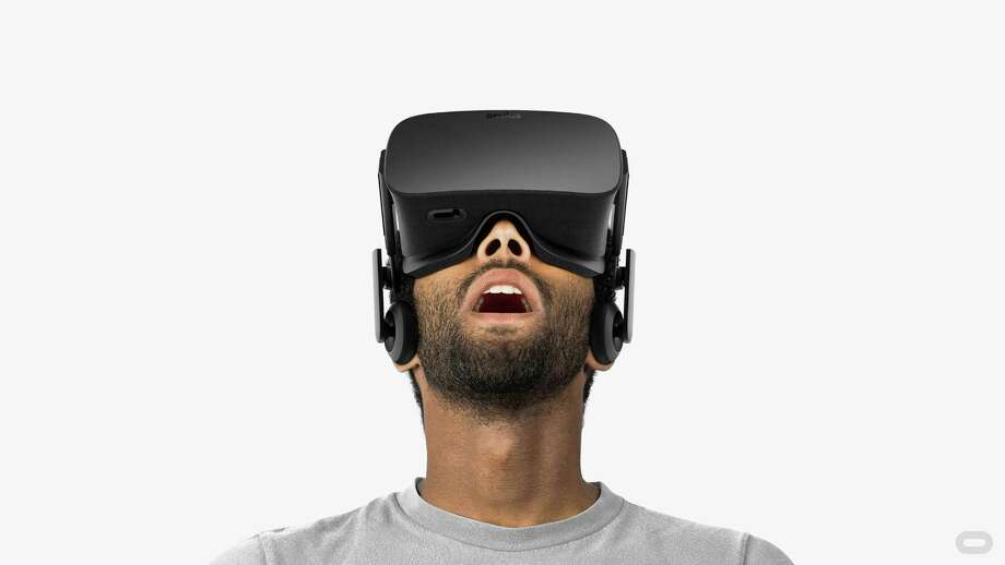 """""""You're wearing the glasses and you really think you're in the car,"""" says one proponent. Photo: Oculus Rift / Oculus VR"""