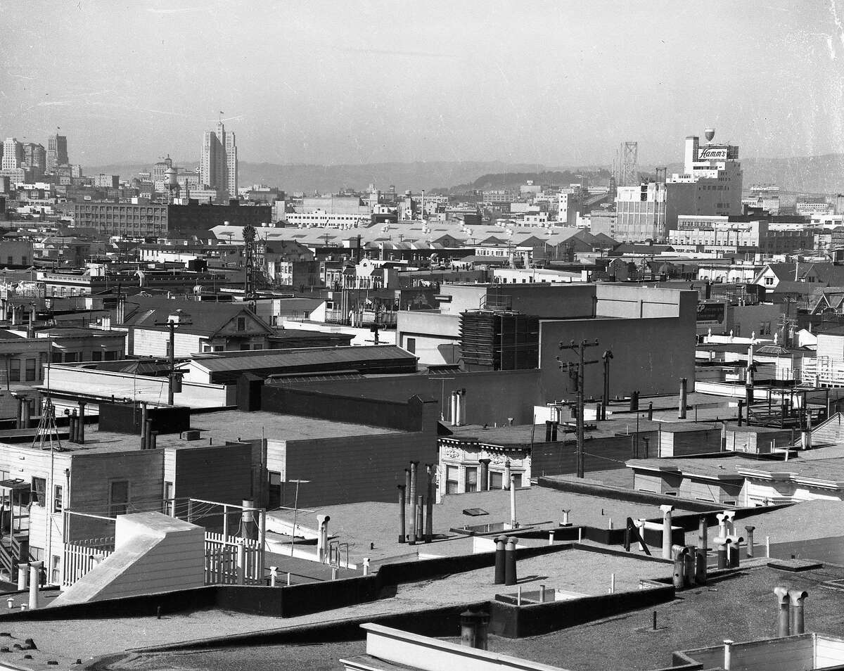 The Hamm's Brewery when it opened at 1550 Bryant St. in San Francisco on June 24, 1954.