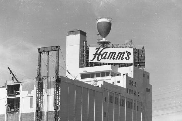Hamm's Brewery at 1550 Bryant St. in San Francisco when the building was new. June 24, 1954. Also for Landmarks22.