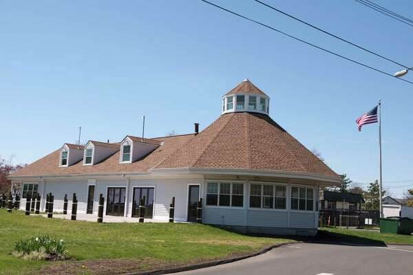 The clubhouse at the entrance to Short Beach Park in Stratford, Connecticut is the future site of a restaurant.