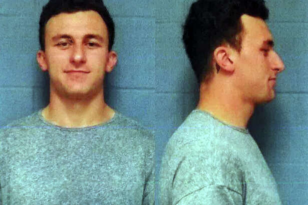 In this photo provided by the Highland Park Department of Public Safety Wednesday May 4, 2016, Johnny Manziel is shown in his booking mugshot. (AP Photo/Highland Park Department of Public Safety)