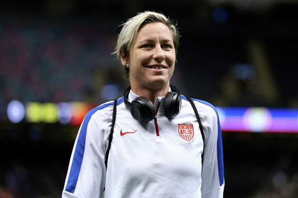 NEW ORLEANS, LA - DECEMBER 16:  Abby Wambach #20 of the United States walks on the field before the women's soccer match against China at the Mercedes-Benz Superdome on December 16, 2015 in New Orleans, Louisiana.  (Photo by Chris Graythen/Getty Images) ORG XMIT: 585346955
