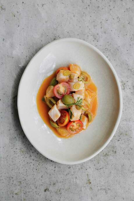 "Veracruz ceviche from ""Mexico from the Inside Out"" by Enrique Olvera Photo: Courtesy Araceli Paz"