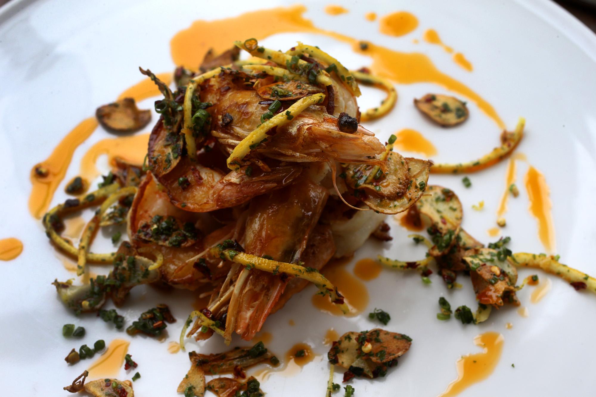 Review edera reworks classic italian dishes to almost for Antonio s italian cuisine