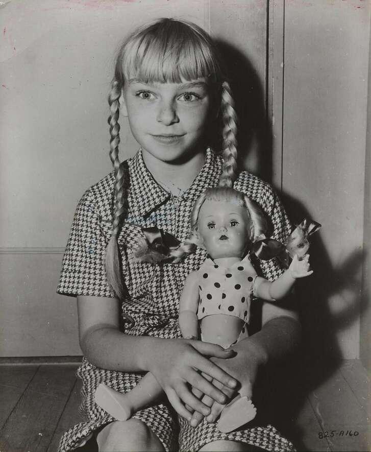 Patty McCormack, child actress.  Sept. 16, 1956 file photo