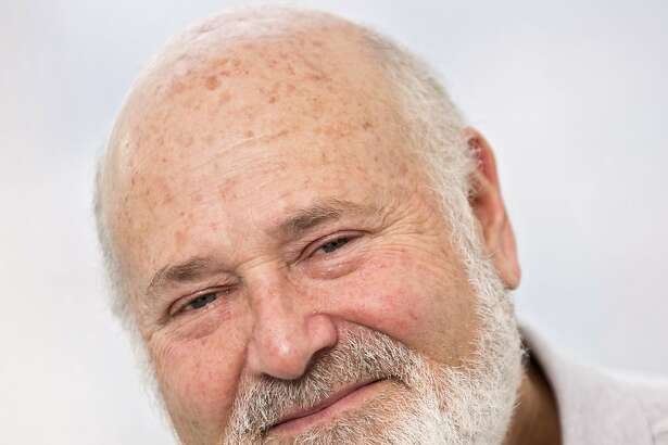 """In this May 2, 2016 photo, writer-director Rob Reiner poses for a portrait in New York. Reiner has always had an affinity for the father-son story and has explored the theme and his own life in films like """"Stand By Me"""" and """"A Few Good Men,"""" but none have come so close as """"Being Charlie,"""" loosely based on his son Nick Reiner's struggles with drugs. (Photo by Brian Ach/Invision/AP)"""