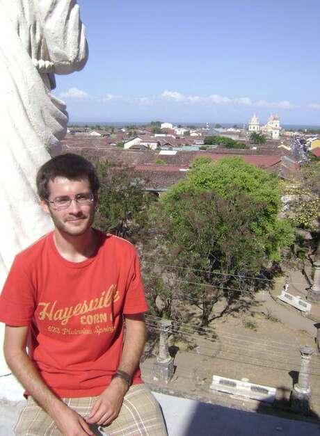 Andrew Kragie in Granada, Nicaragua, in 2011.