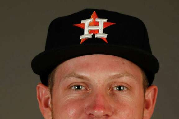 Houston Astros pitcher Chris Devenski at the Astros spring training in Kissimmee, Florida, Wednesday, Feb. 24, 2016.( Karen Warren / Houston Chronicle )