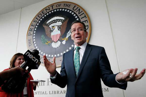 Gov. Dannel P. Malloy eschewed an annual end-of-session address to lawmakers, after an attempt failed to vote on budget adjustments before the 12:01 a.m. deadline Thursday.