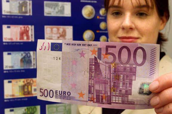 "The European Central Bank says the 500-euro banknote ""could facilitate illicit activities."""
