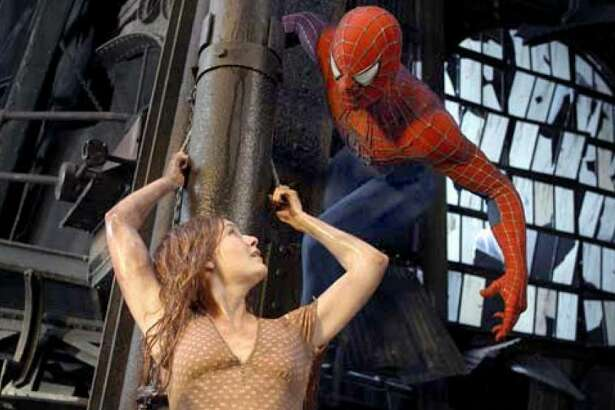 Spider-Man 2: All the Spider-Man movies have been not-so good, or OK or pretty good. They're never great, but they're never too bad. Except this one. This one, if it wasn't great, was close to it, with Tobey Maguire and Kirsten Dunst in the lead roles.