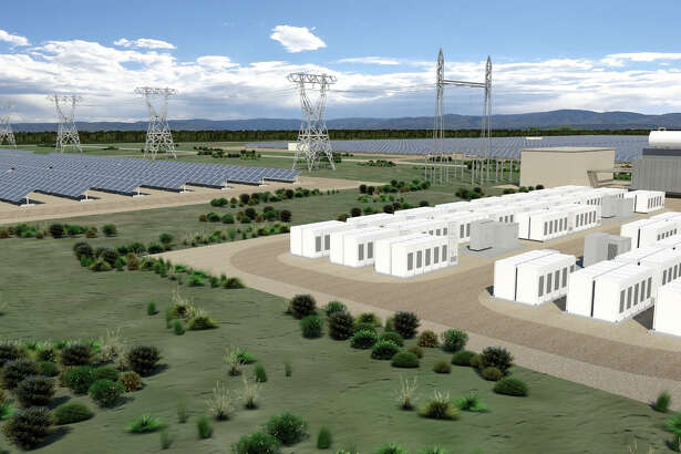 The Connecticut Municipal Electric Energy Cooperative and SolarCity announced plans to develop 13 megawatts of solar power systems and at least 1.5 megawatts of energy storage systems to provide power to customers in Norwalk, Groton and other Connecticut towns where CMEEC supplies service. (Rendering via PRNewswire)