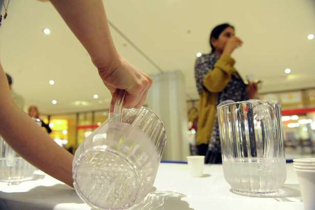 Albany County Best Drinking Water of 2015 taste test at the Empire State Plaza Concourse on Thursday May 7, 2015 in Albany, N.Y. (Michael P. Farrell/Times Union)