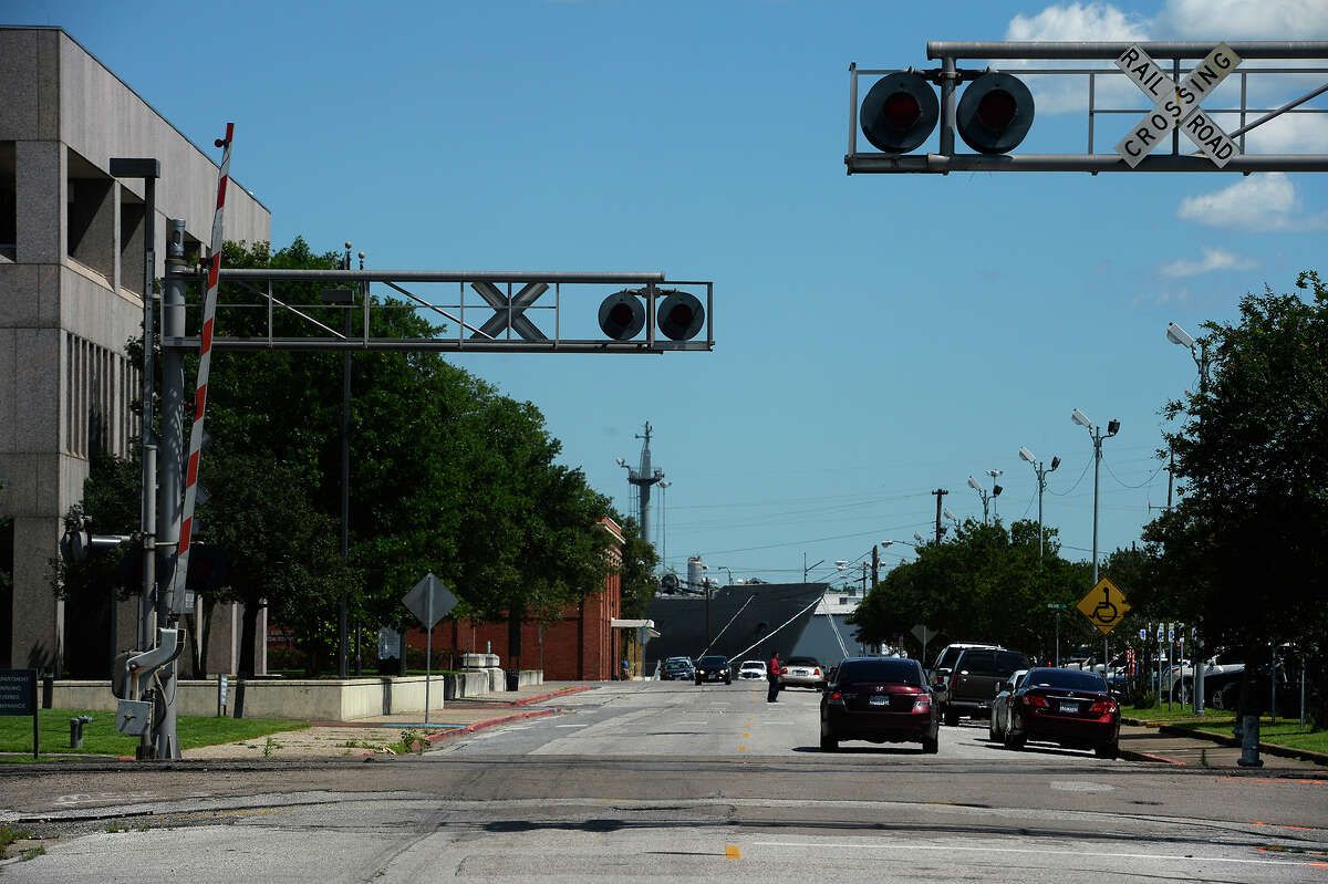 The city will be closing Pearl Street at the railroad crossing to create a