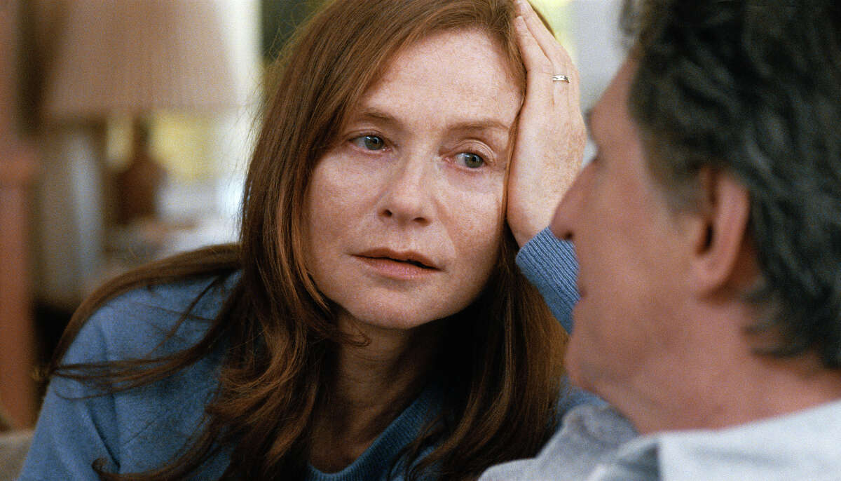 """This image released by The Orchard shows Isabelle Huppert in a scene from """"Louder Than Bombs."""" (The Orchard via AP)"""