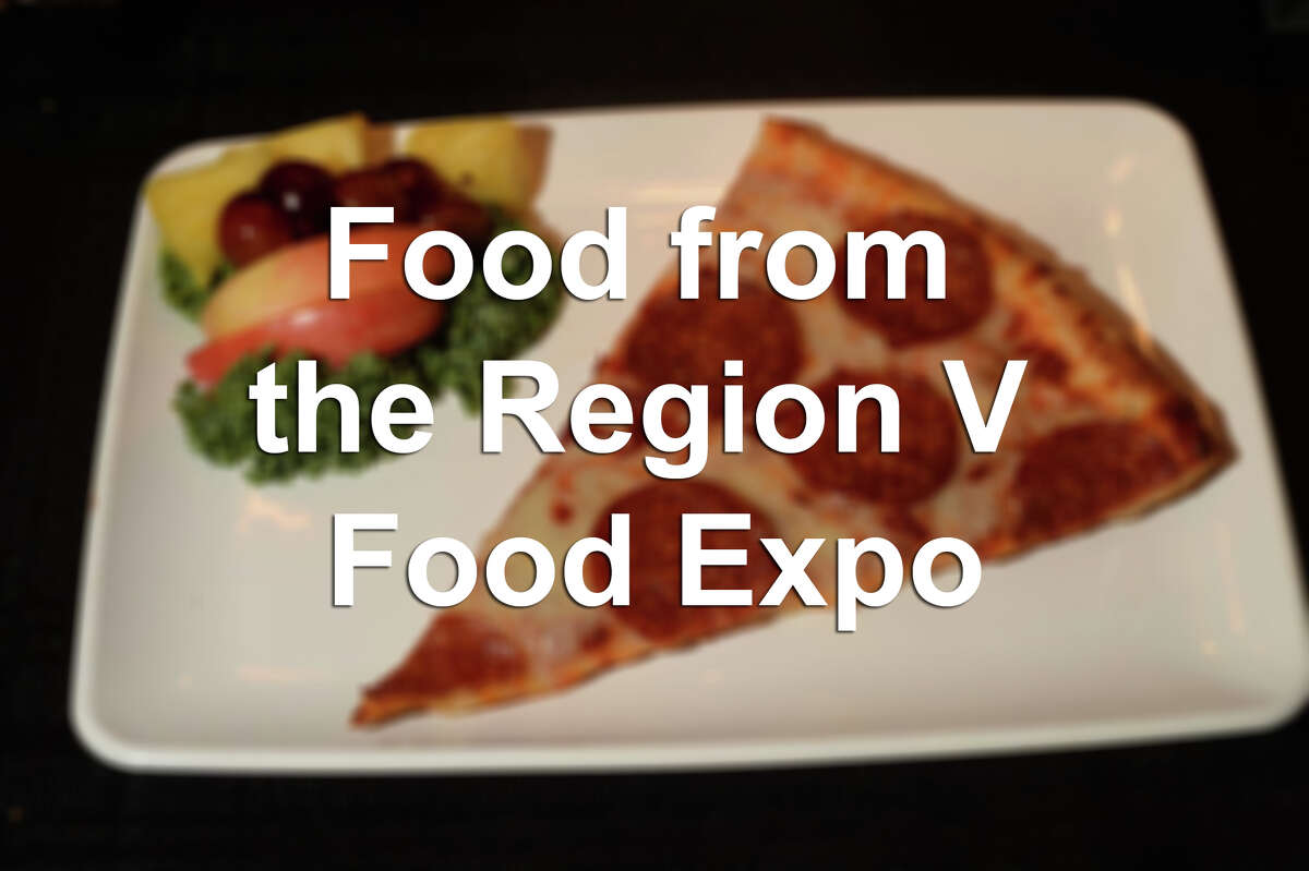 See the foods served in cafeteria meals, as displayed at the 2016 Region V Food Expo, hosted at Edison Plaza in February.