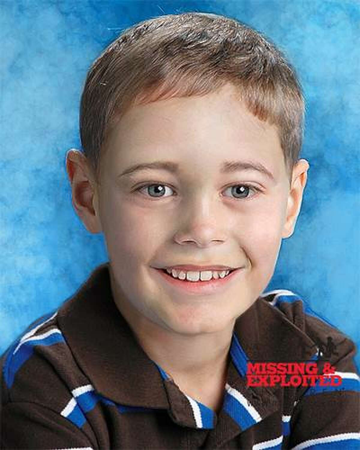 An age progressed photo of Gabriel Johnson, who would be 7 years old today.