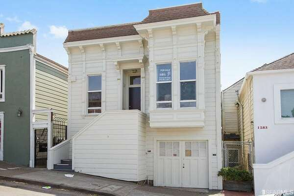 This charming two-bedroom in the Bay View offers an opportunity for those who thought they could never afford a San Francisco Victorian.