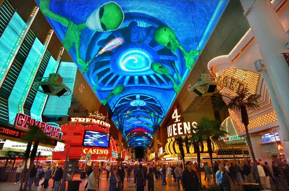 Fremont Street Experience in Las Vegas.