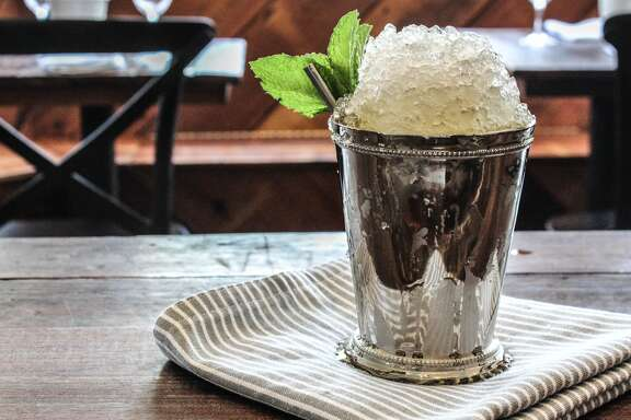 EIGHT ROW FLINT This Heights ice house is offering a Derby Day drink menu that includes $6 juleps noon-close on May 7.  The drinks -- Eight Row Julep, the Coltivare Julep and the Pac-Rim Julep -- are made with Woodford Reserve, the official bourbon of the Kentucky Derby.