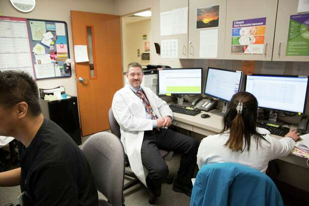The Head and Neck Survivorship Program and Clinic director Charlie Schreiner works with his staff of Advanced Nurse Practitioners and Physicians Assistants with a holistic approach for their cancer survivors.