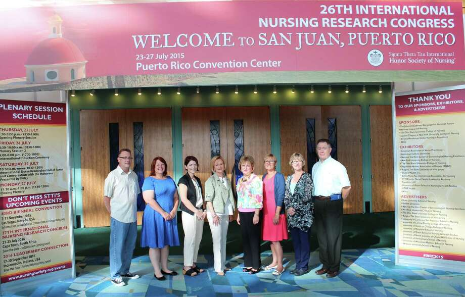 UTMB nurses presented nursing research and evidence-based practice projects in San Juan, Puerto Rico.