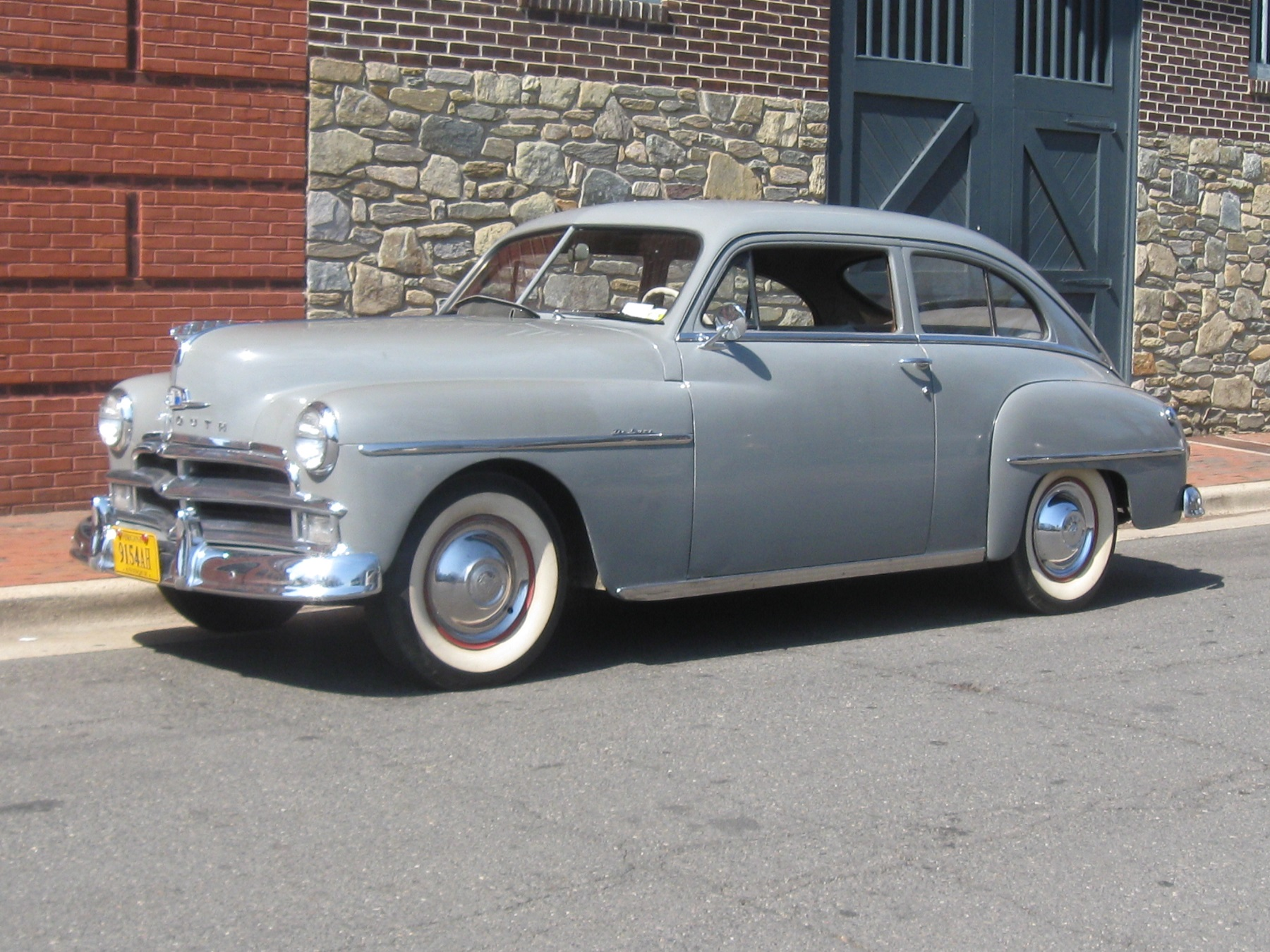 1950 Plymouth impulse roadside purchase in New York