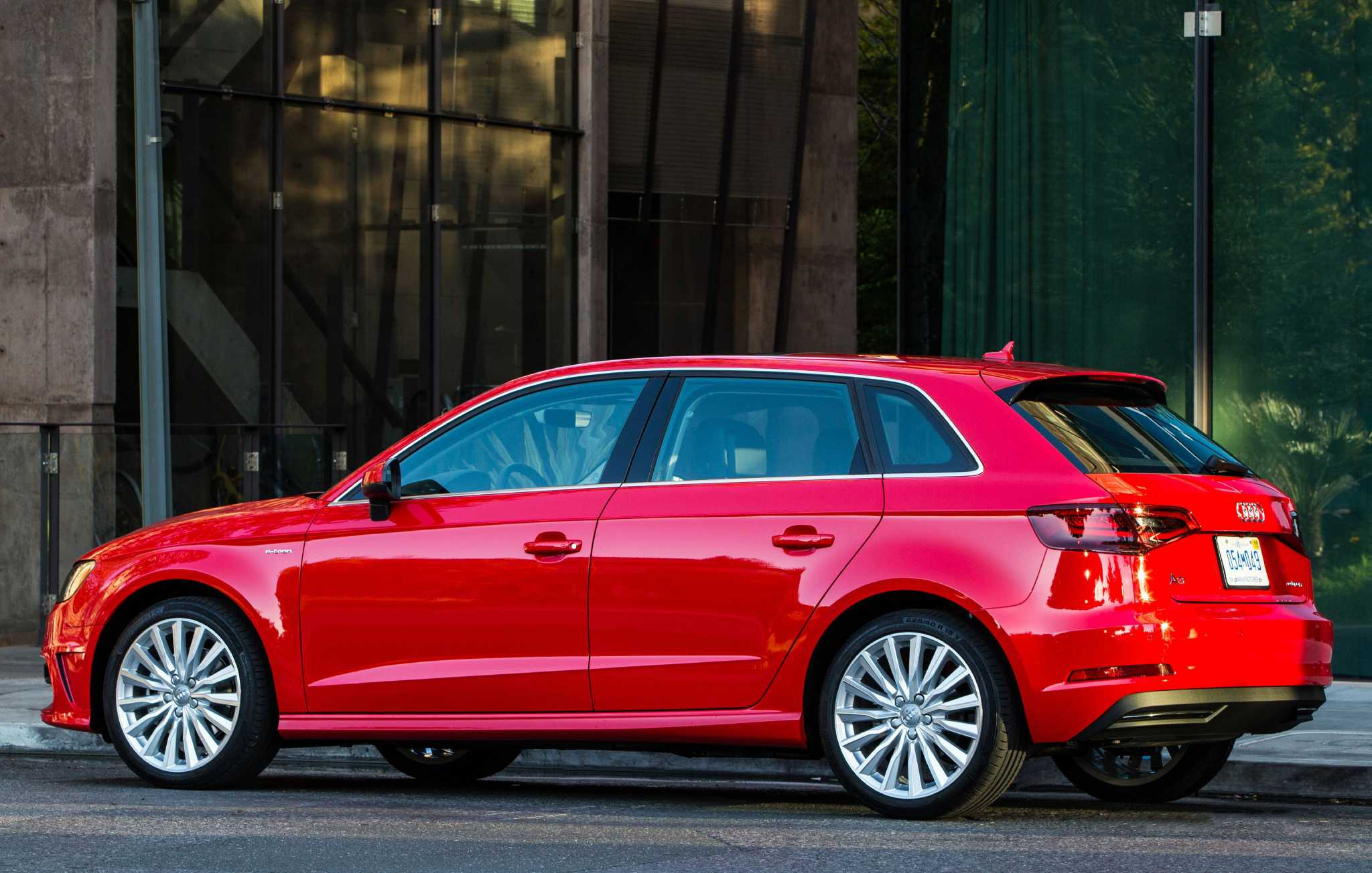 Audi's A3 Sportback e-tron model is the brand's first plug-in hybrid for U.S.