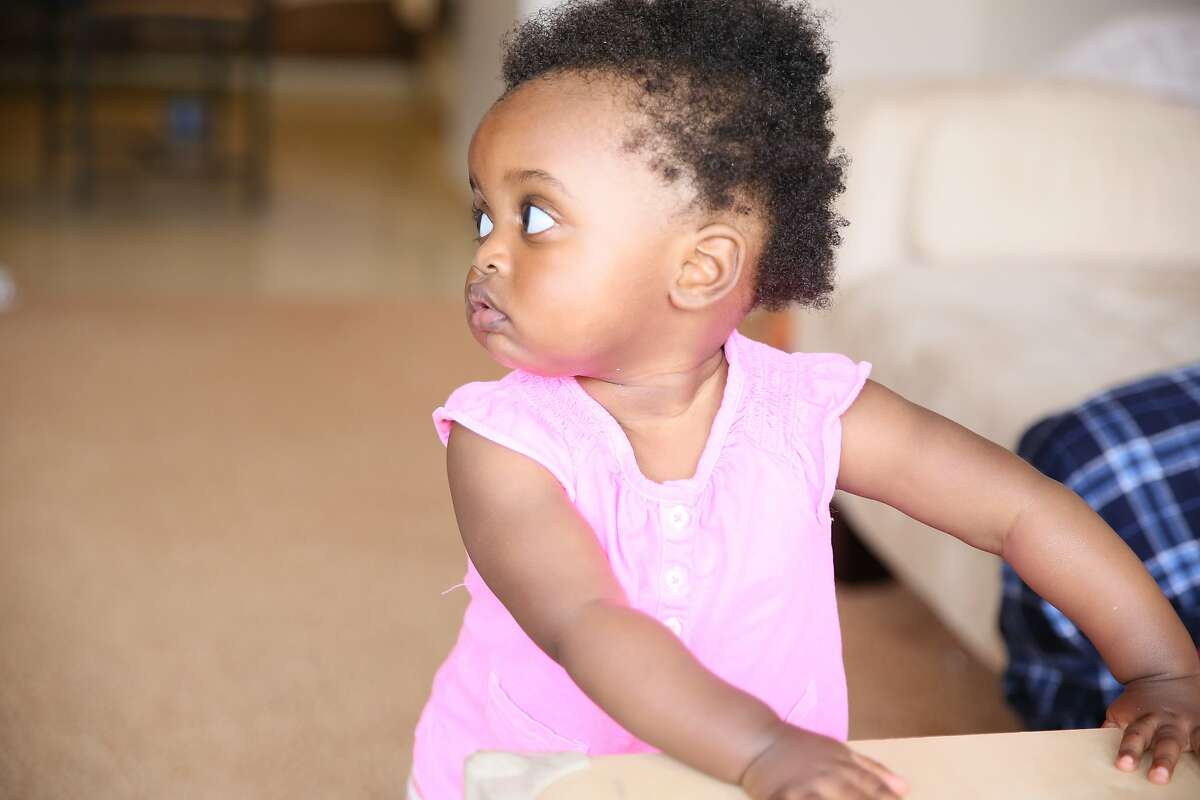 Two-year-old Nzilani Mutunga, of San Francisco, was part of a nationwide study led by researchers at UCSF that tested the effectiveness and safety of the drug EPO,erythropoietin, toward combating a condition that causes brain injury in newborns.