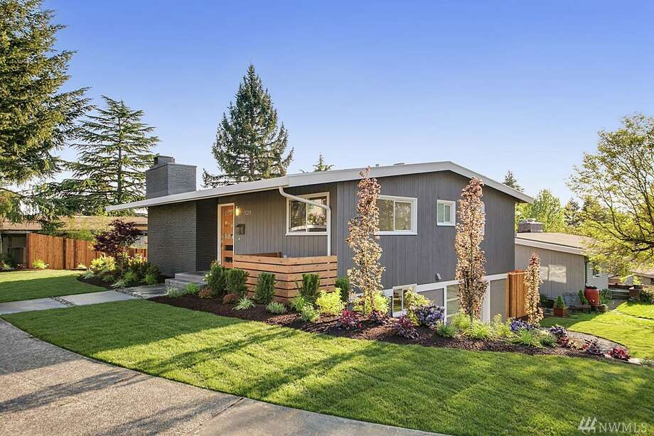 The first home, at 7011 47th Ave. N.E., is listed for $868,000.The three-bedroom, 2½-bathroom home was built in 1952 and is just steps away from the View Ridge Playfield. The home has new windows and vaulted ceilings that allow for plenty of natural light.You can see the full listing here.  Photo: Paul Gjording
