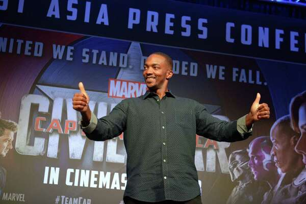 Anthony Mackie says his friendship with Chris Evans, who plays Captain America, translates well on film.