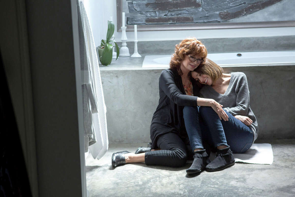 """Susan Sarandon, left, stars as Marnie and Rose Byrne as Lori in """"The Meddler."""""""