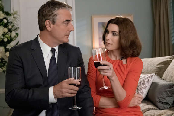 """""""The Good Wife,"""" starring Chris Noth as Peter Florrick and Julianna Margulies as Alicia Florrick, ends its run Sunday."""